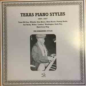Various - Texas Piano Styles 1929-1937 mp3 flac