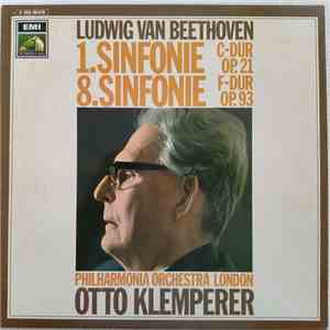 Beethoven, Otto Klemperer, Philharmonia Orchestra - The Beethoven Symphonies Numbers 1 & 8 In C Major, Op. 21 And In F Major, Op. 93 mp3 flac