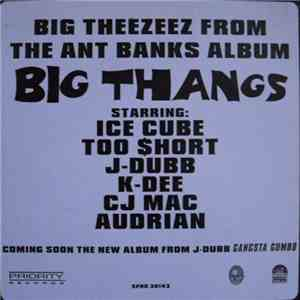 Ant Banks - Big Theezeez From The Ant Banks Album Big Thangs