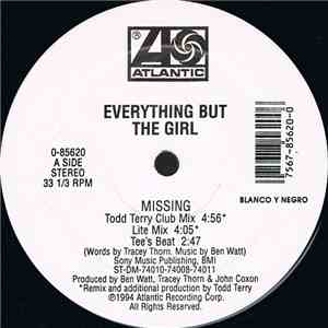 Everything But The Girl - Missing (The Bootleg Mixes!) mp3 flac