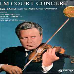 Max Jaffa With The Palm Court Orchestra - Palm Court Concert